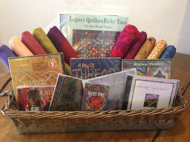 Gift Basket For A Quilter Gift Ftempo