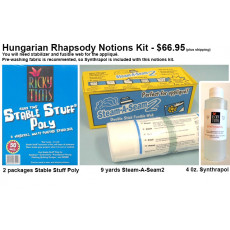 Hungarian Rhapsody - Notions Kit