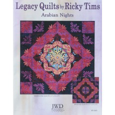 Legacy Quilt Pattern - Arabian Nights