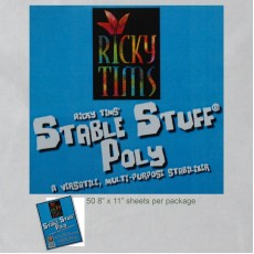 Ricky Tims' Stable Stuff Poly - 50 sheets 8.5x11